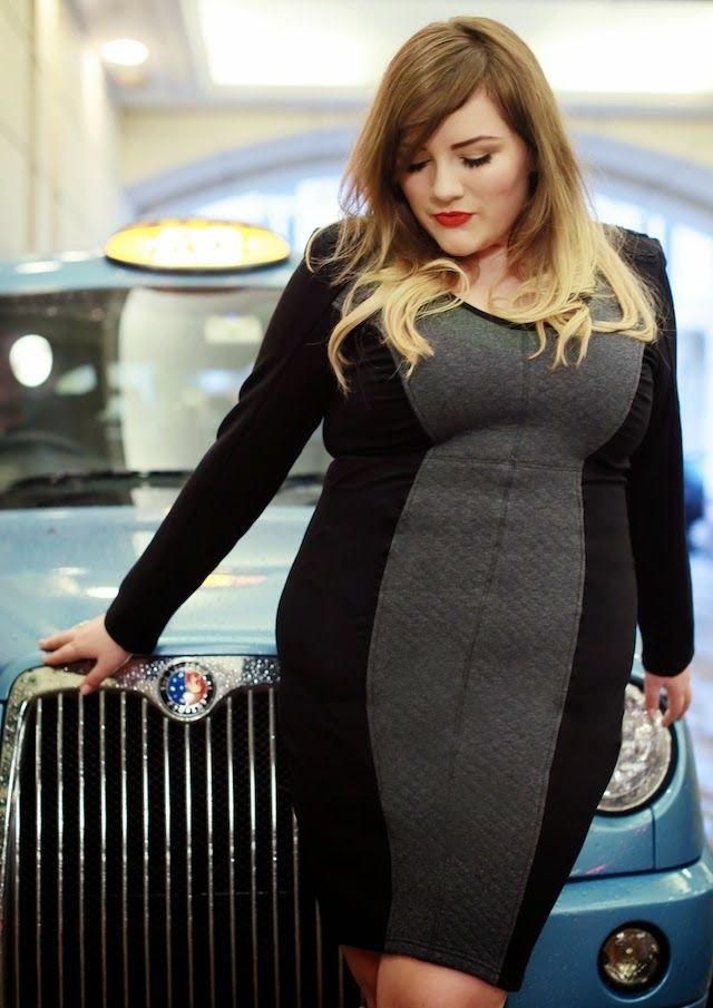 be6c01c8a580ce Theodora Flipper: Navabi Shooting London Jurken In Grote Maten, Outfits In Grote  Maten,