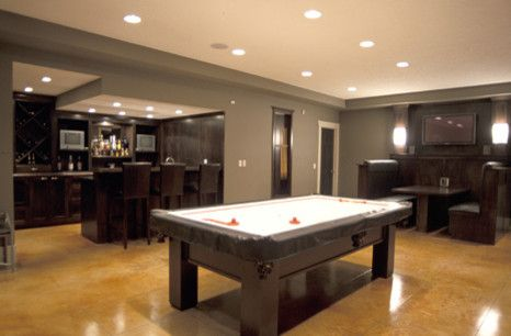 Awesome basement specialty interiors pinterest for Rec room pools