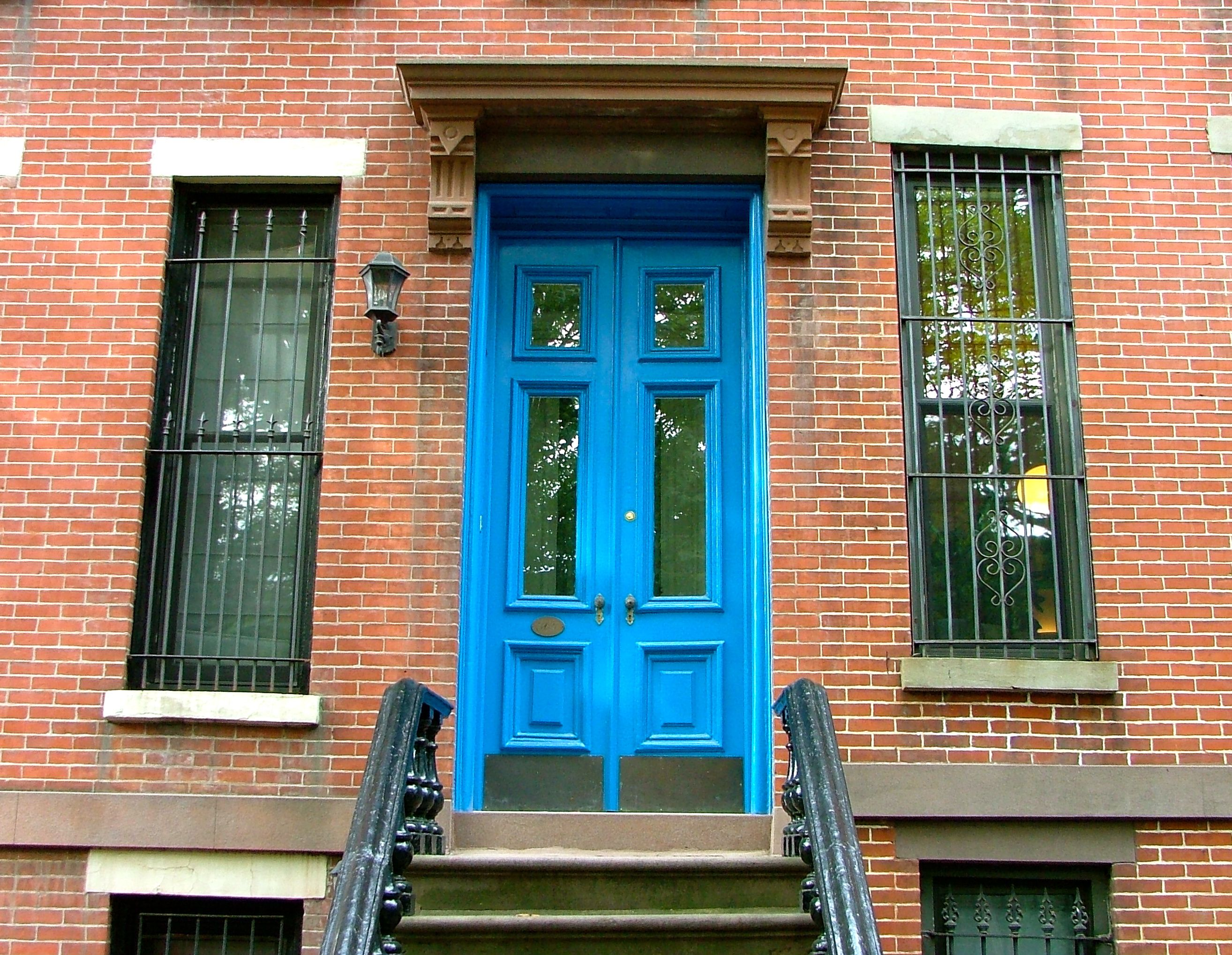 Cerulean Door in Brooklyn & Cerulean Door in Brooklyn | Beautiful Doors | Pinterest | Cerulean ...
