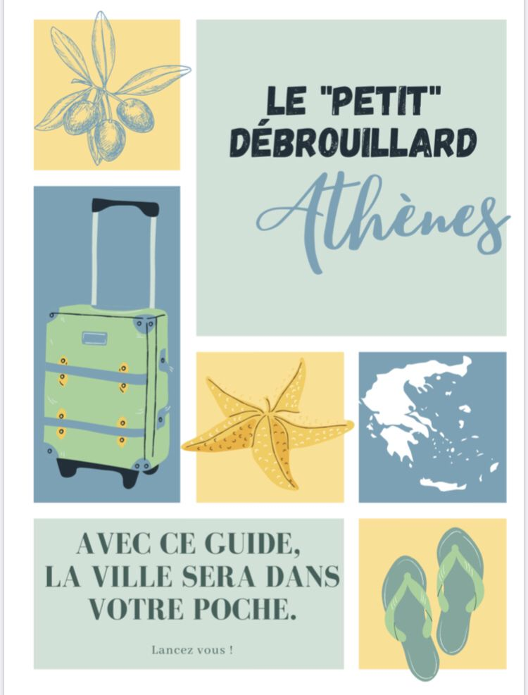 Athenes Dans Votre Poche En 2020 Athenes Guide De Voyage Debrouillard