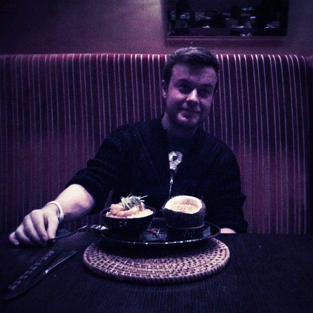 Ма, сегодня обедал по багатому, в Буддабаре, это кари!