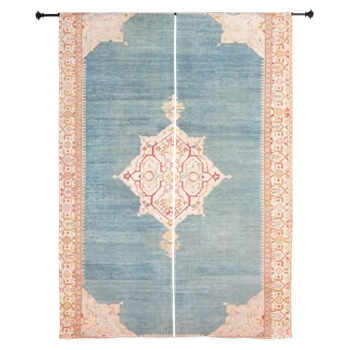 Turkish Oushak Rug 60 Curtains Rugs Area