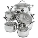 Lagostina 11 Piece Padova Cookware Set Cookware Set Cookware