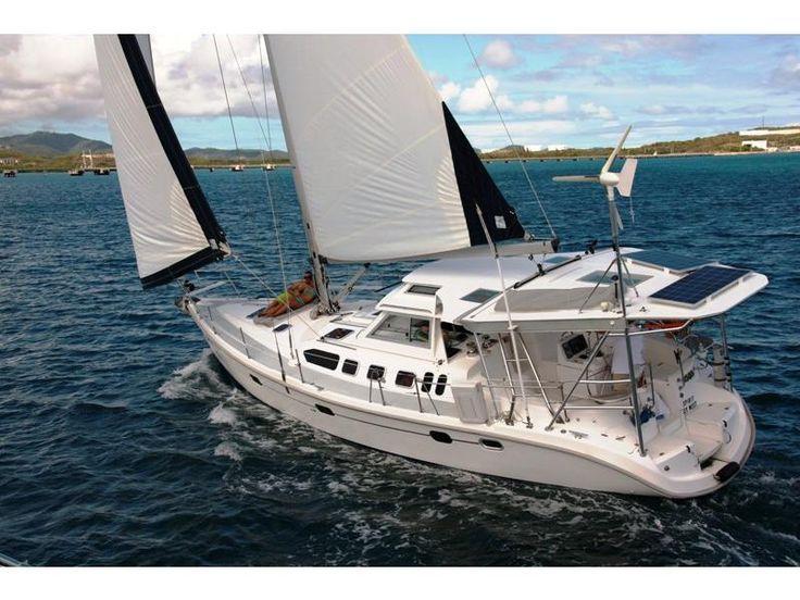 Fiberglass Bimini Sailboat 2001 Hunter 460 Go