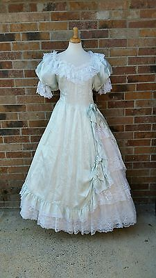 Vintage 90s Southern Belle Dress plus size XL 2X lace | Old ...