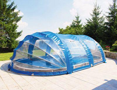 Cubierta para piscina azuro piscina pinterest for Cubre piletas precios