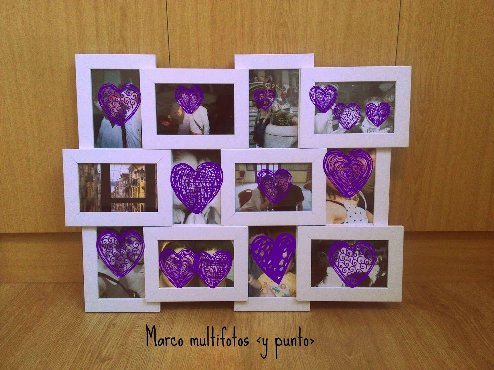 Y punto : Marco multifotos DIY | ideas | Pinterest | Fotografía ...