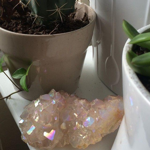 #crystals