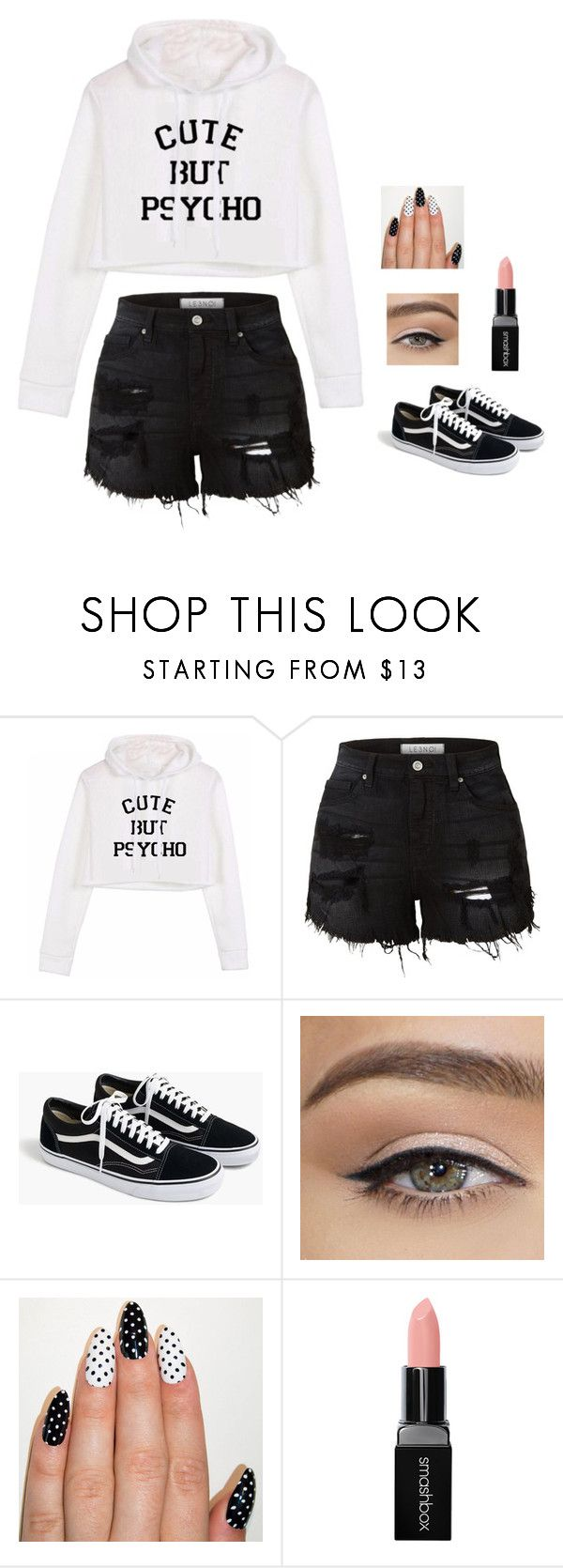 """Maybe I'm crazy or maybe just crazy in love"" by sillybands95 ❤ liked on Polyvore featuring LE3NO, J.Crew and Smashbox"