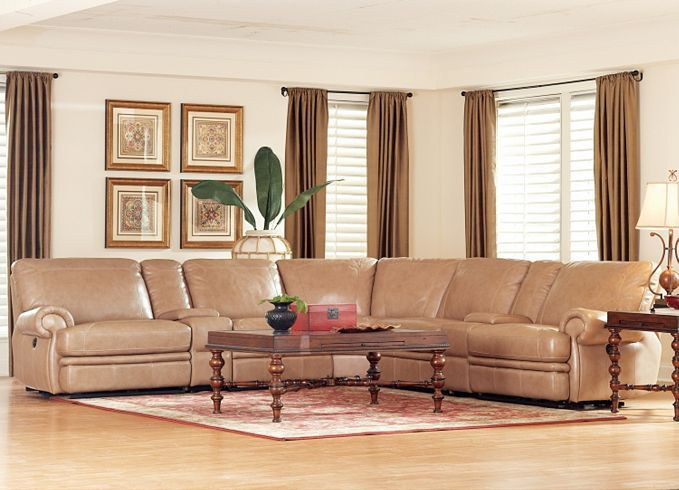 Bentley Sectional Havertys Traditional Living Room Furniture