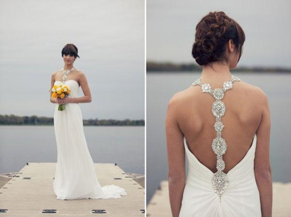 24 unique racerback wedding dresses that make our hearts race! - Wedding Party | Wedding Party