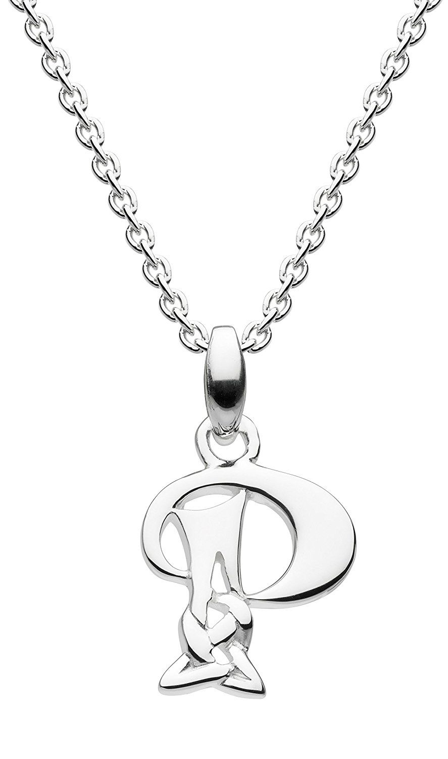 Heritage Women's 925 Sterling Silver Pendant of Length 45.7 cm 8ZNdGzMo