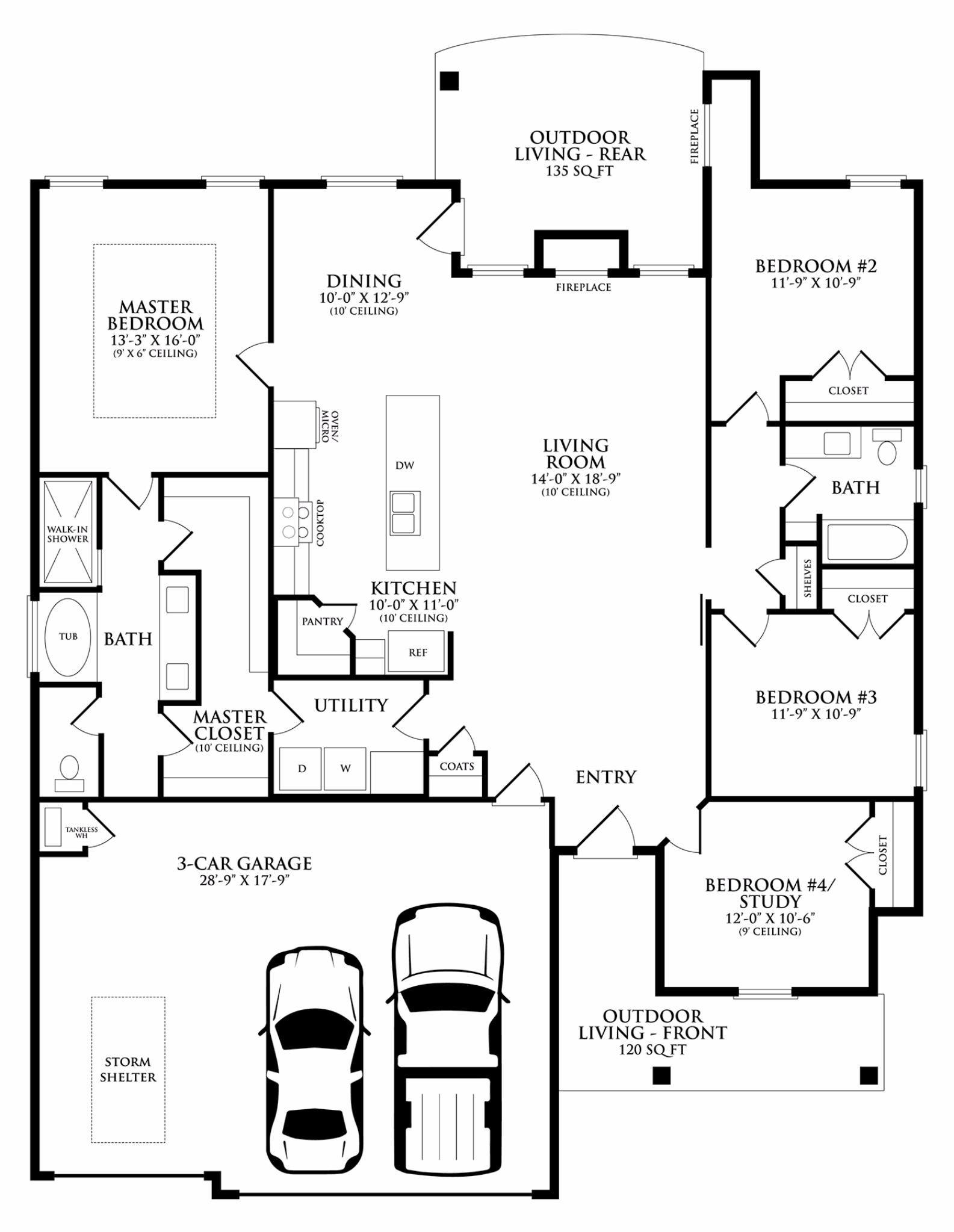 Sage Floor Plan Homes by Taber Floor Plans