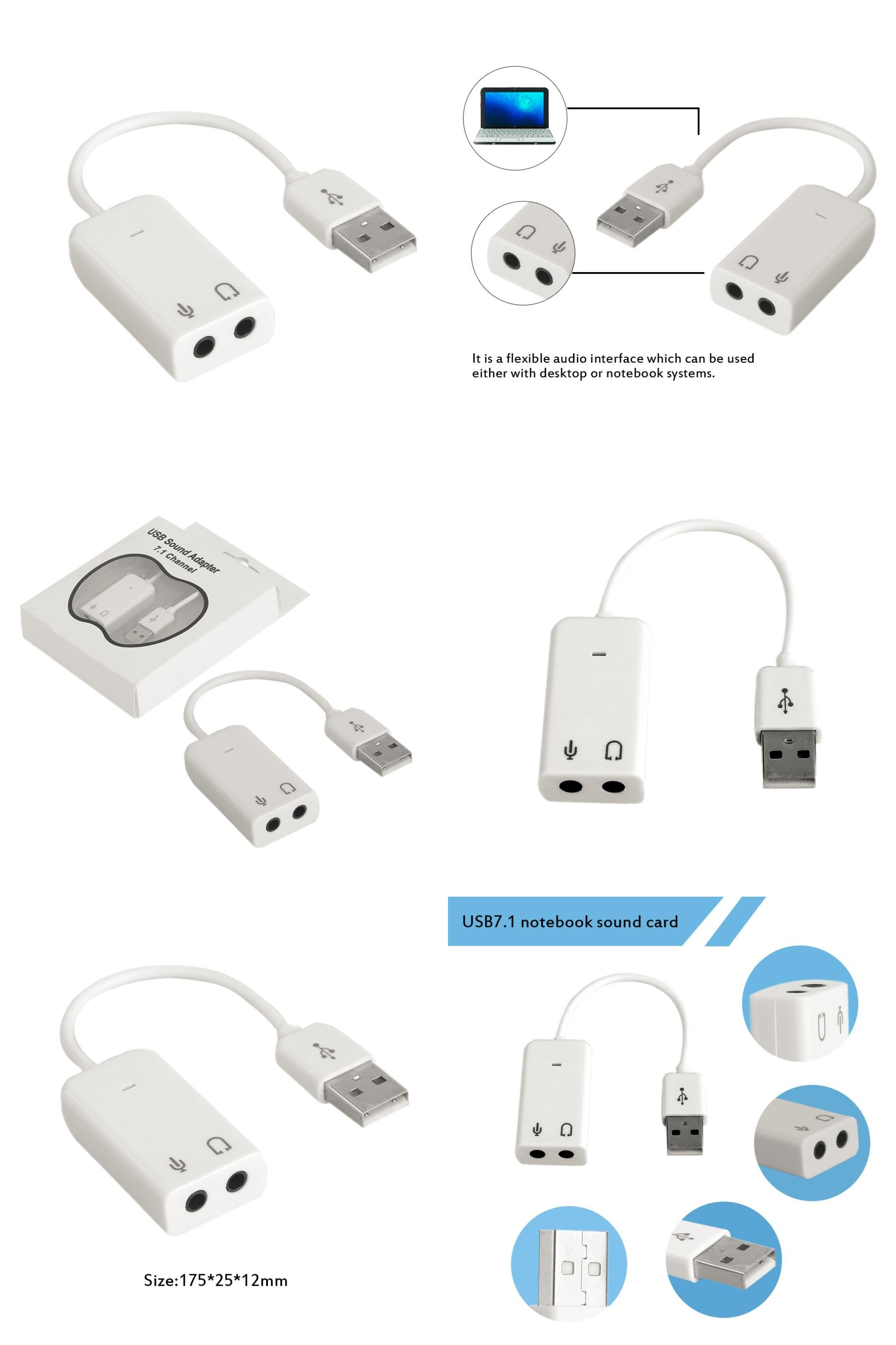 Visit To Buy Professional Notebook Usb 71 Channel External Sound Card Adapter With Independent
