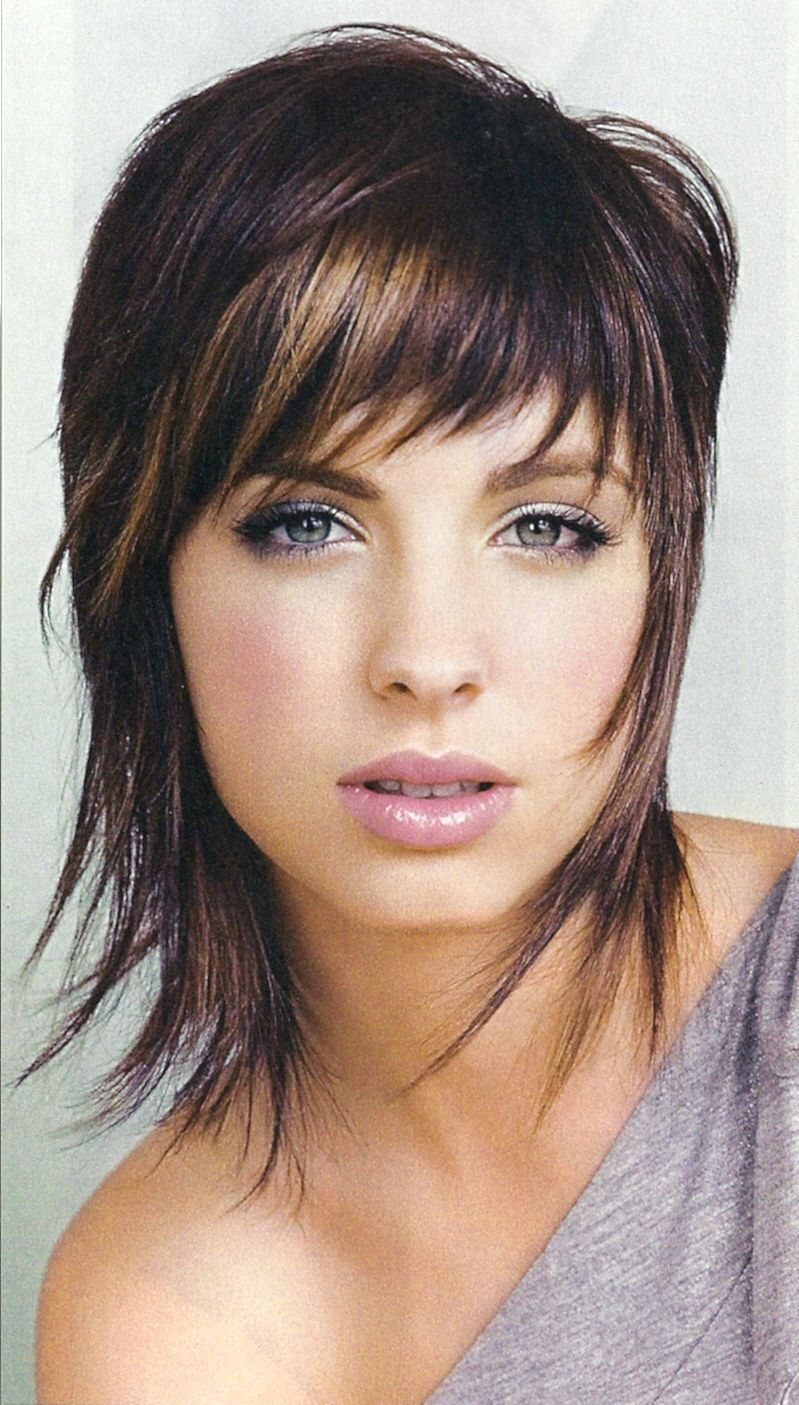 funky edgy medium length hairstyle ideas for women | hair medium