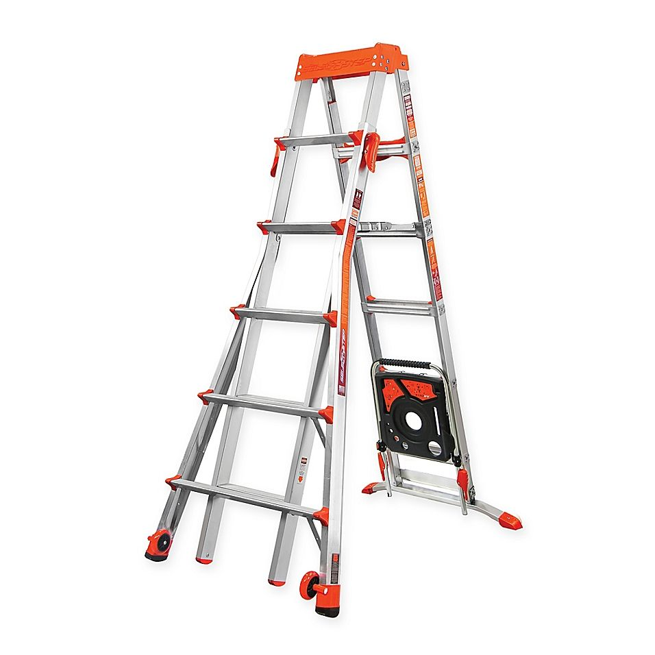 Little Giant 6 10 Select Step Type Ia Aluminum Ladder With Airdeck Aluminium Ladder Ladder Little Giants