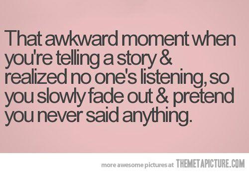It happens...
