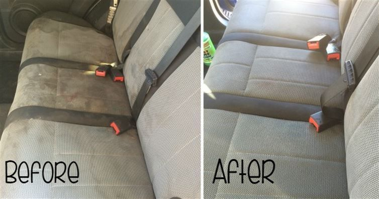 how to deep clean car seats at home