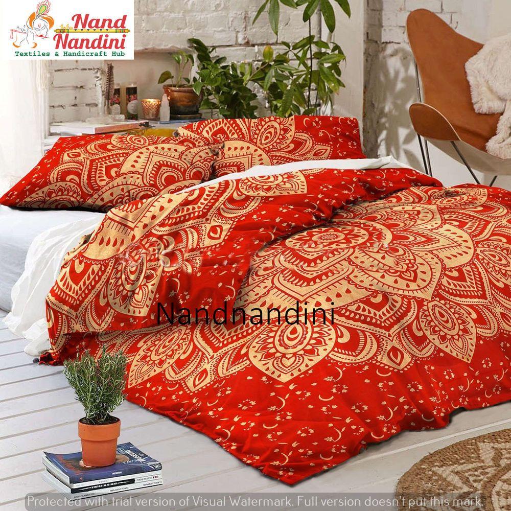 Christmas Gift Bohemian Bedding Mandala Bedspread Quilt Cover