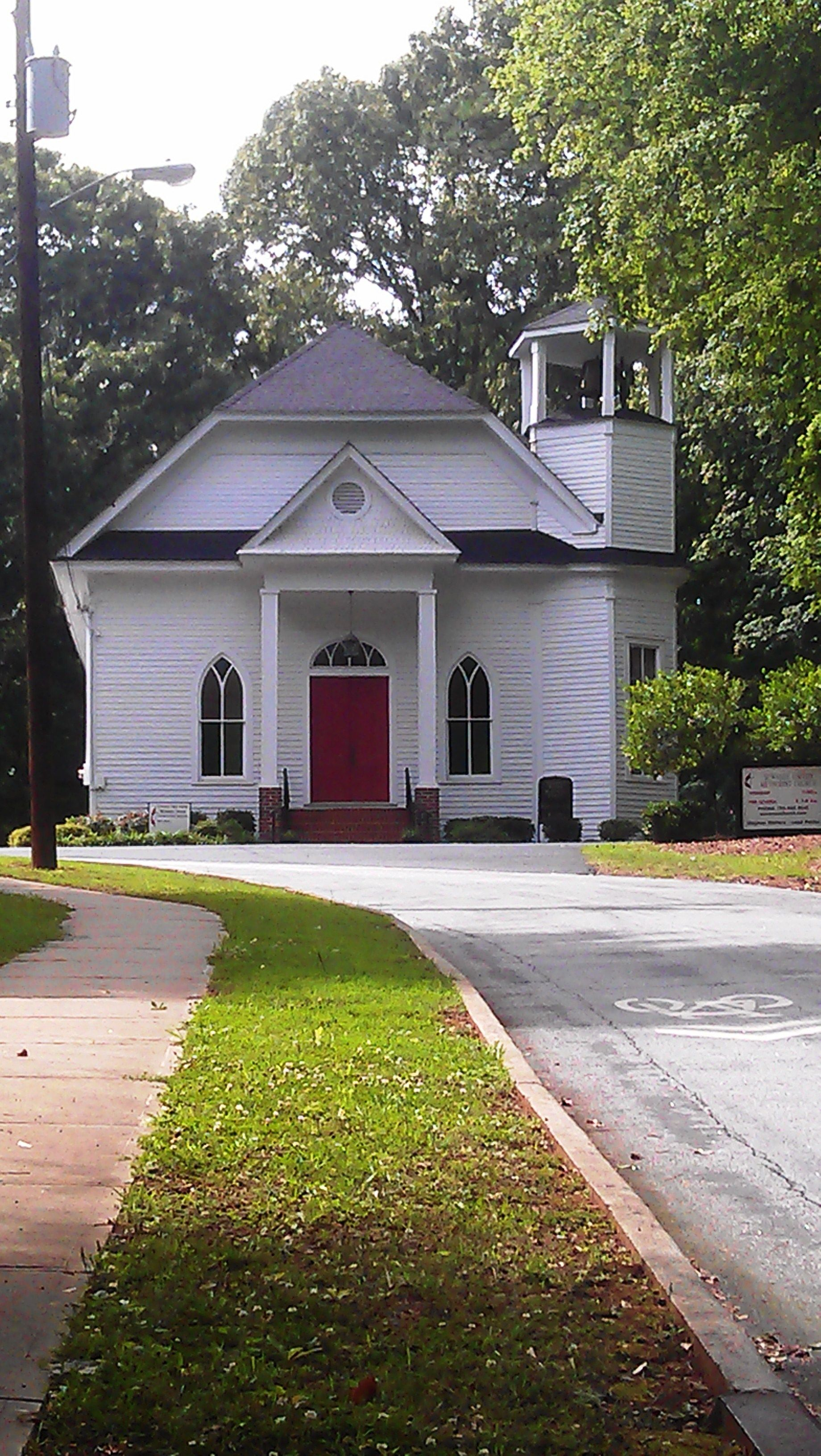 Historic Suwanee United Methodist Church Still Opens It S Doors To The Community Suwanee Historic Homes Church