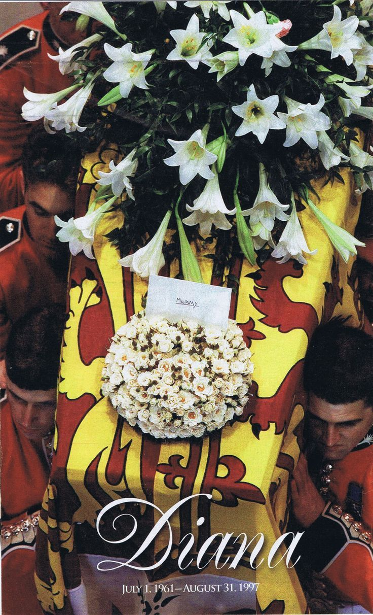 Princess Dianas Funeral September 6th 1997 Diana Pinterest