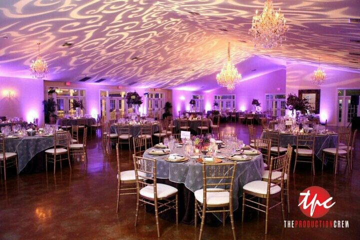 Custom Ceiling Gobo Breakout Projections And Led Up