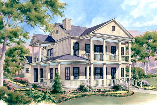 Windy Mill Cottage Southern Living House Plans Southern Living House Plans Southern House Plans Charleston House Plans