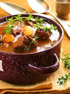Photo of Goulash with potatoes and spring onions