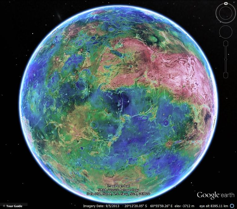 Google Solar System Now You Can Explore A Number Of The Solar - Google maps globe