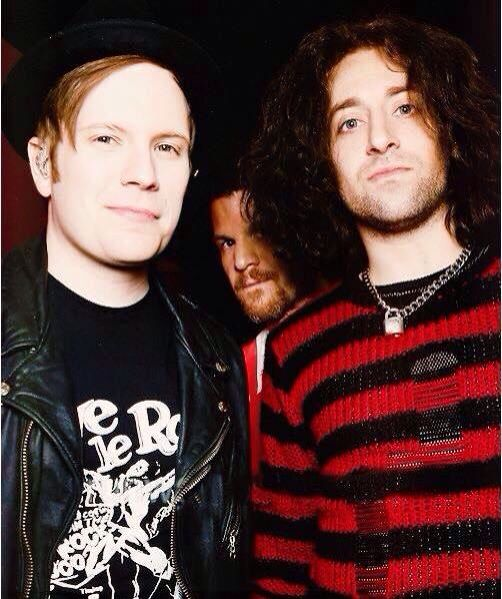 Patrick and Joe getting photo bombed by Andy