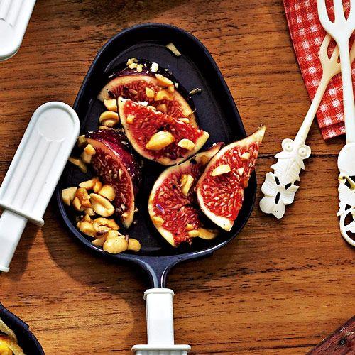 raclette pf nnchen feige erdnuss rezept food rezepte. Black Bedroom Furniture Sets. Home Design Ideas