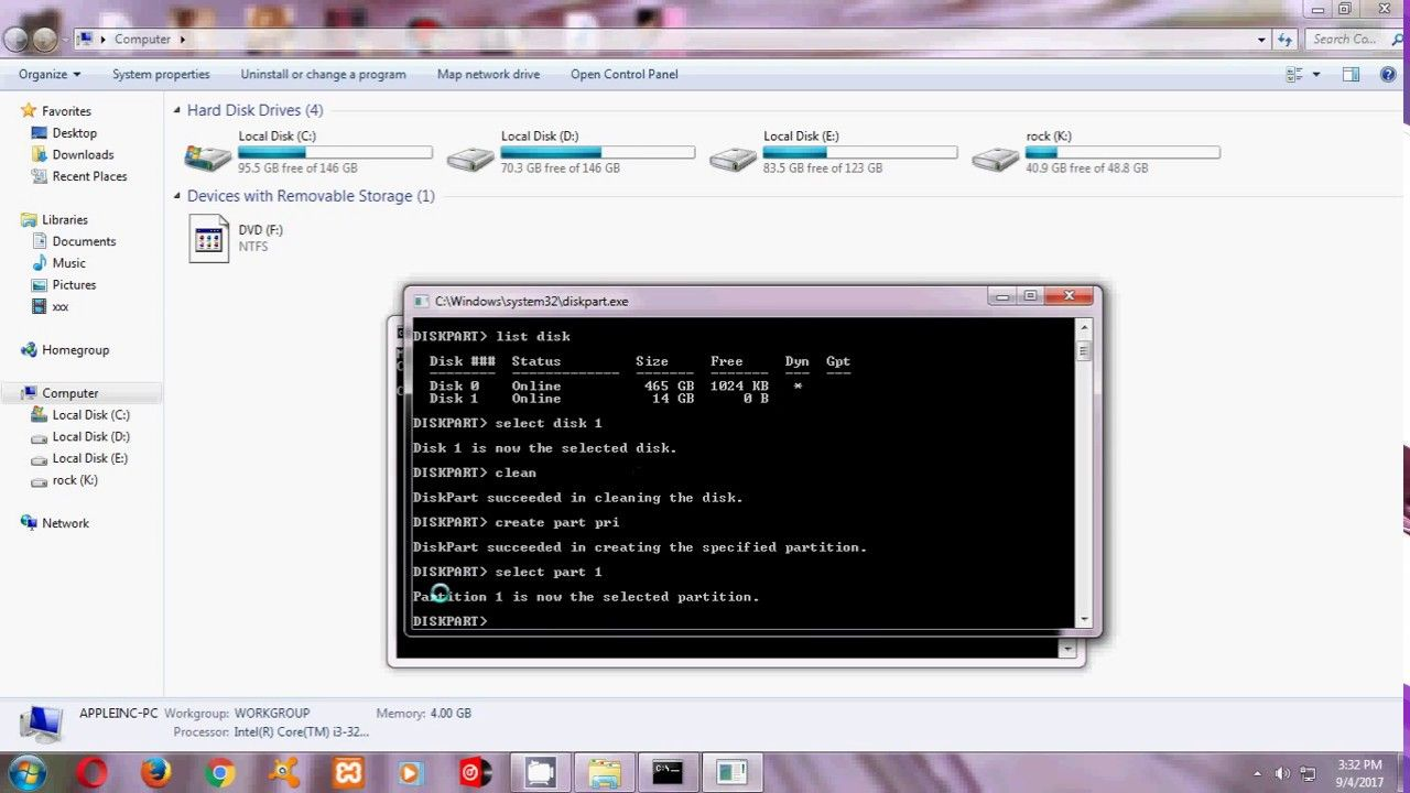 Pin By Arup Roy On How To Make Bootable Usb Pendrive For Windows Using Cmd Usb Windows