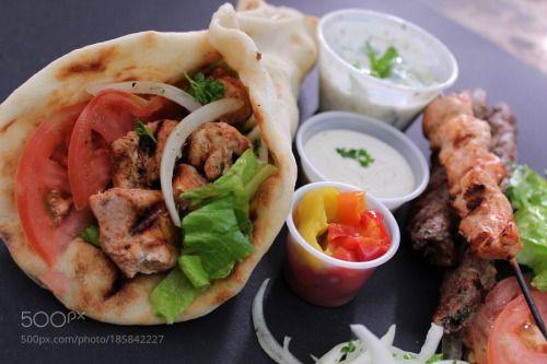 chicken kebab sandwich by belal145  IFTTT 500px