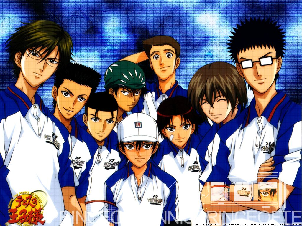 Seigaku Prince Of Tennis Prince Of Tennis Anime The Prince Of Tennis Tennis