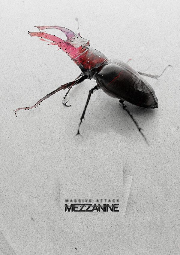 Massive Attack Polymorph On Behance Music Artwork Rock Posters