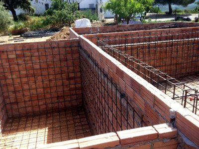 Paso 3 Instalacion De Hierro Y Tuberias Piscinas De Agua Salada Piscinas Piscina Bricolaje
