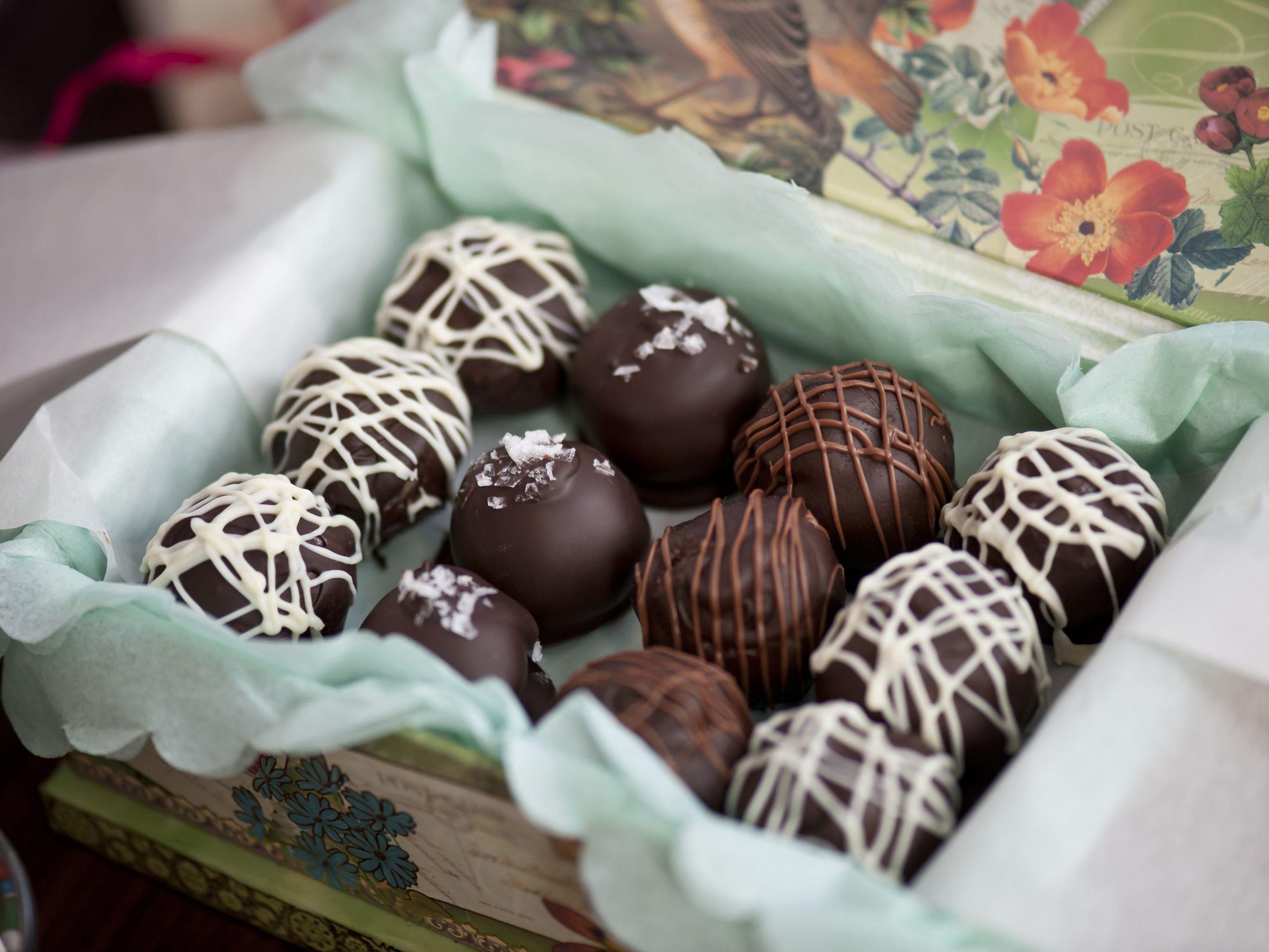 Cookie dough truffles paula deen