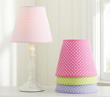 Mini Dot Shade In Green Will Add Another Color To The Room