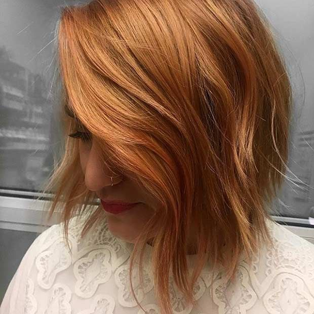 27 Chic Bob Hairstyles And Haircuts For 2017 Strawberry Blonde