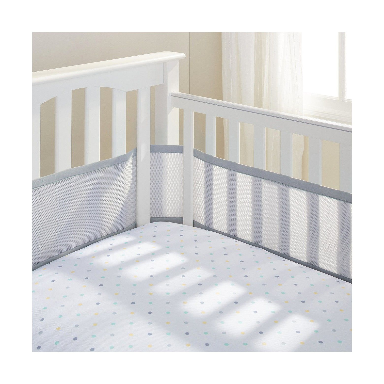 Breathablebaby Classic Breathable Mesh Crib Liners Crib Liners Mesh Crib Bumper Crib Bumper