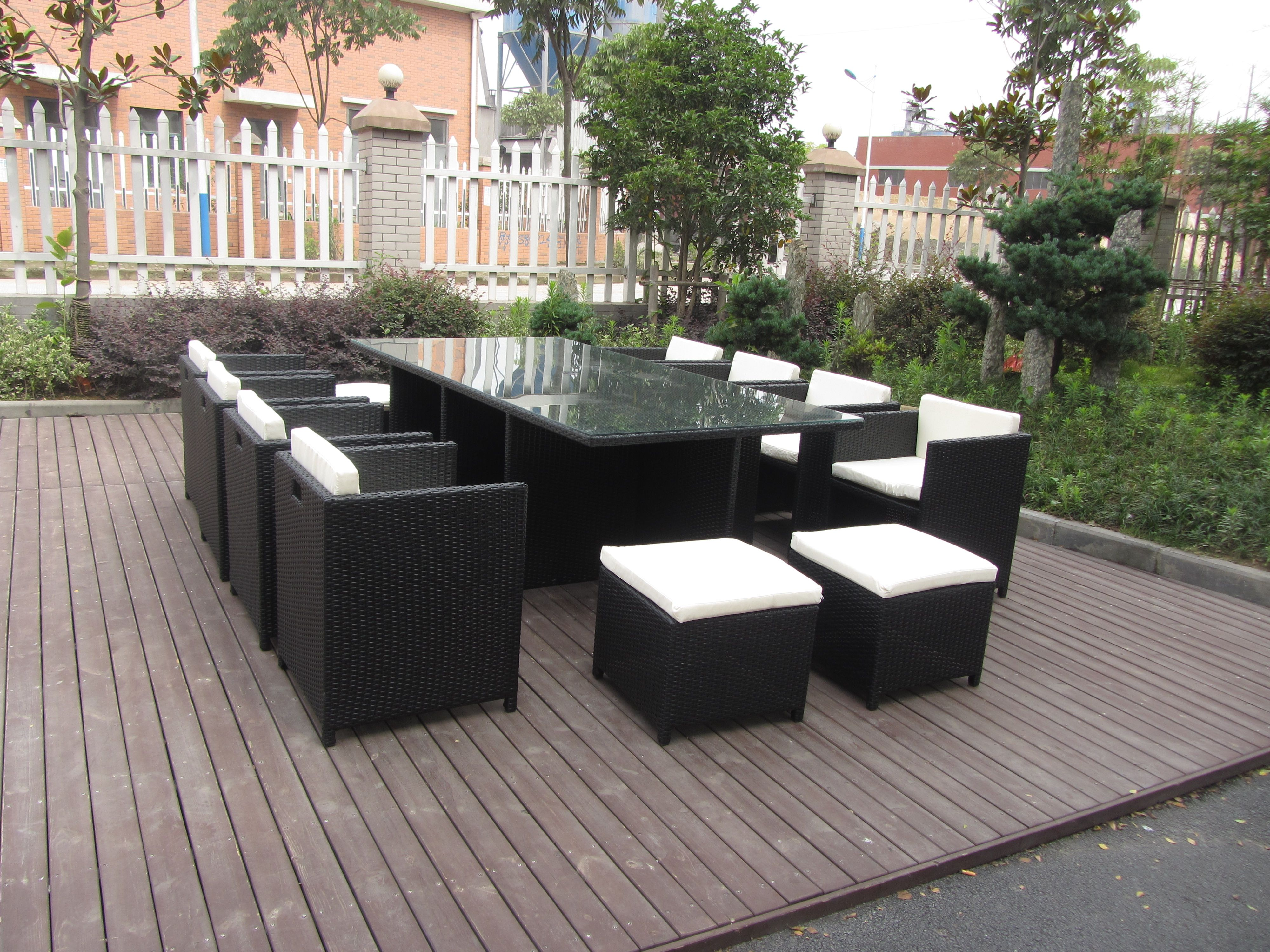 TG 8221 trygo outdoor furniture 2018 cube sofa sets