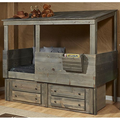 Found It At Wayfair Driftwood Hideout Twin Loft With