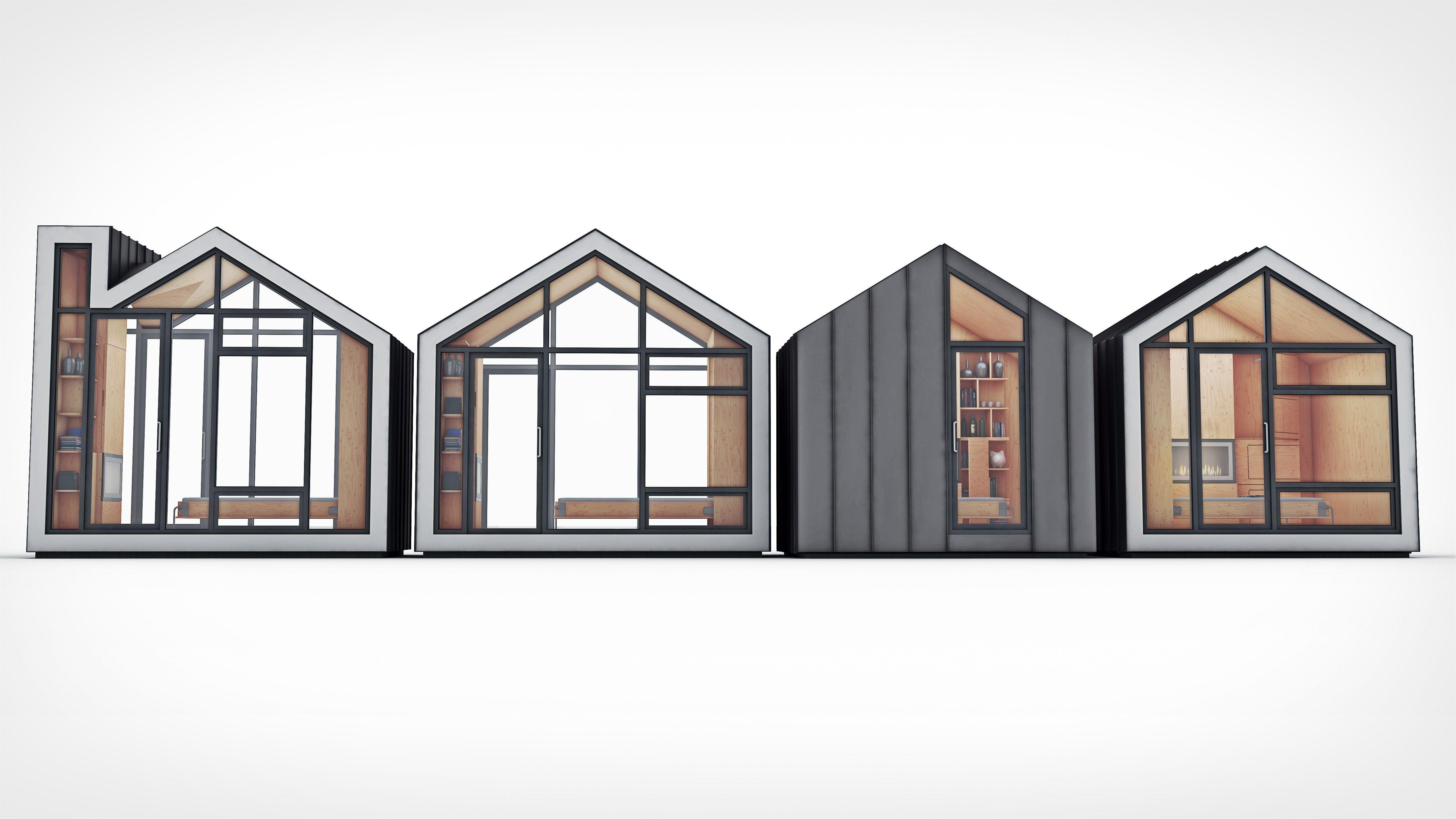 Meet Bunkie! A Tiny Modular Prefab Dream Cabin | Pinterest