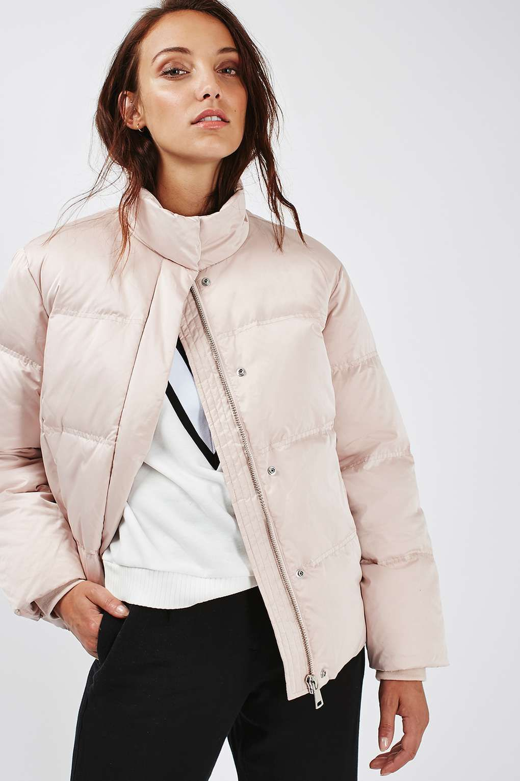 Quilted Puffer Jacket - Jackets & Coats - Clothing | Puffer ...