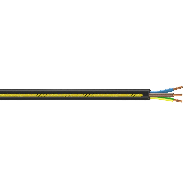 Cable Electrique 3 G 2 5 Mm U1000r2v 3 M Noir En Couronne Cable Electrique Circuit Electrique Et Electrique