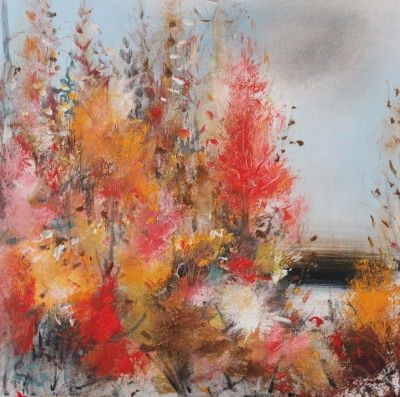 Rosanne Barr - Woodland in Autumn