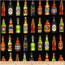 Cheers Beer Bottles Black