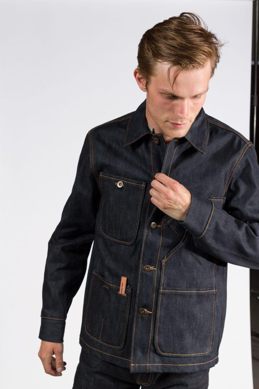 5c490dbfe41 Coverall Jacket - Selvedge Denim - 12.5 oz