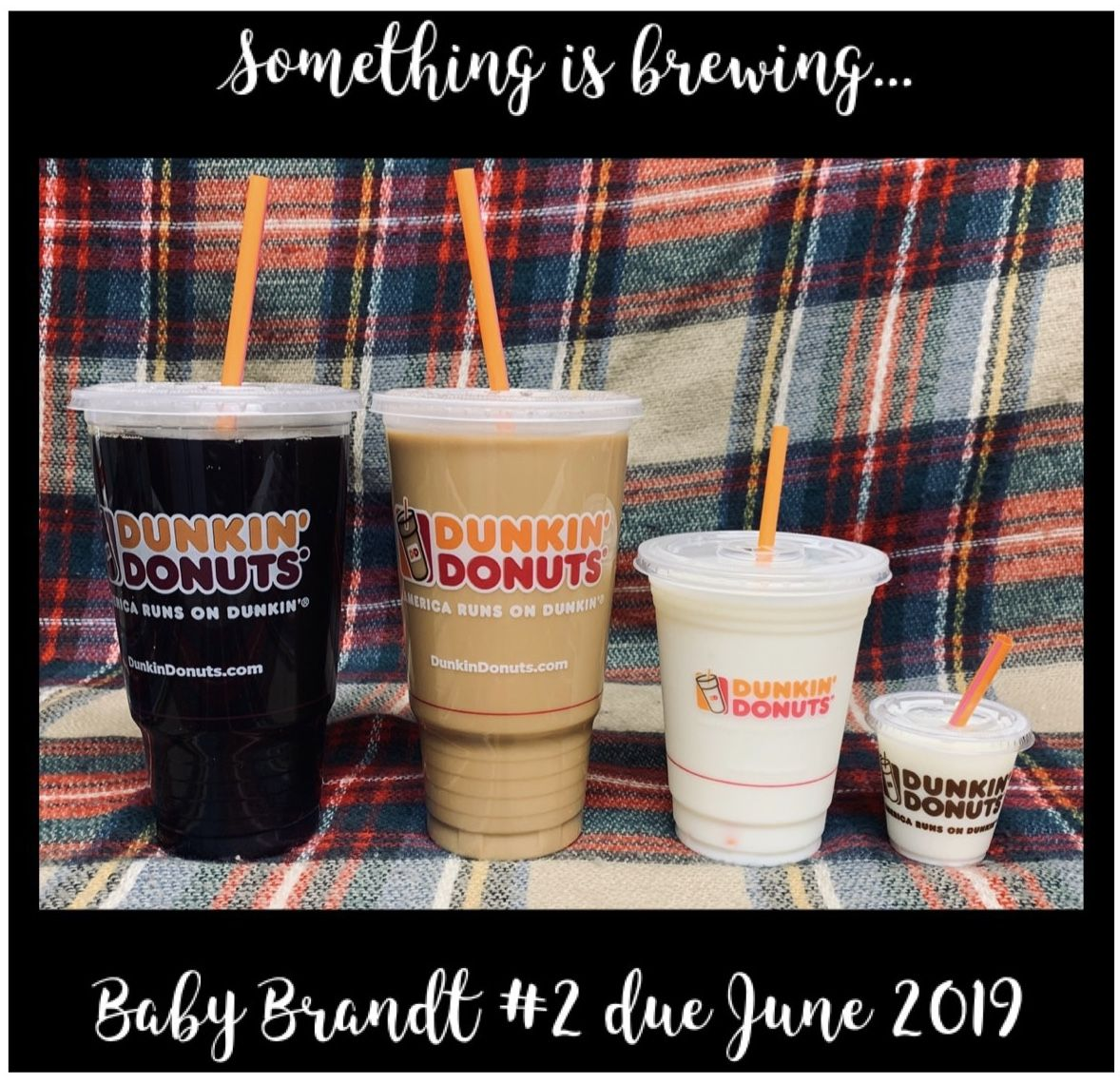 Coffee Baby Announcement Baby Announcement Baby Annoucement Coffee And Donuts