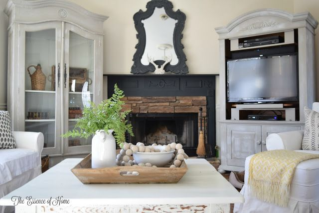 The Essence of Home: Fireplace Makeover